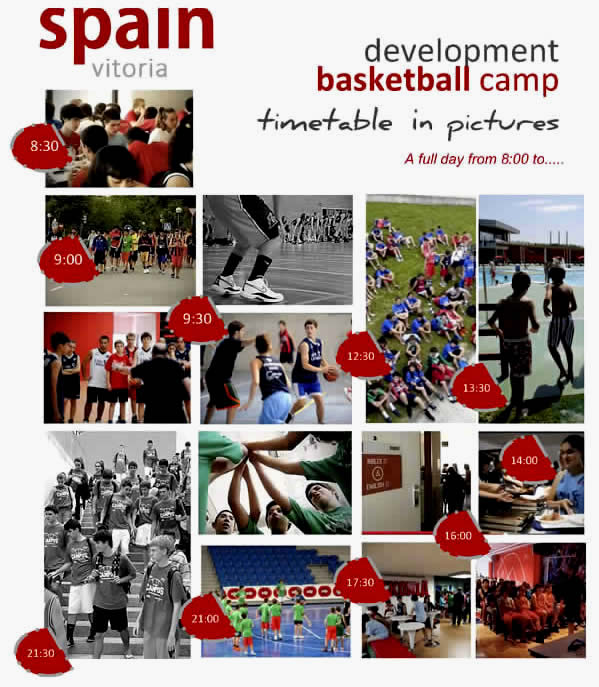 Basketball Camp Baskonia Vitoria Schedule