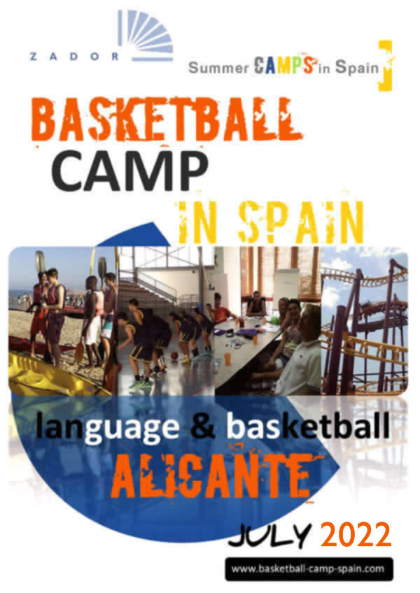Baskeball Camp Alicante Spain 2019 Brochure