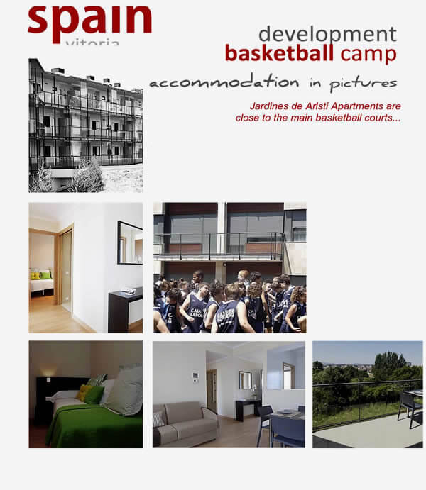 Basketball Camp Laboral Vitoria Accommodation