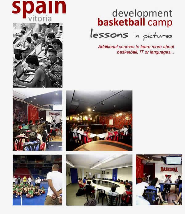Basketball Camp in Spain: language lessons