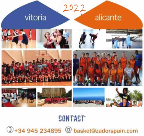 Basketball Camps Spain