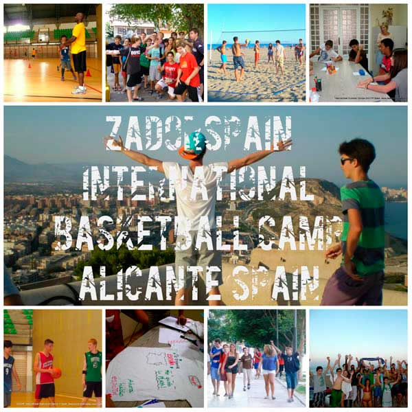 Accommodation at International Basketball Summer camp in Alicante Spain