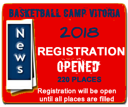 Basketball camp Vitoria news