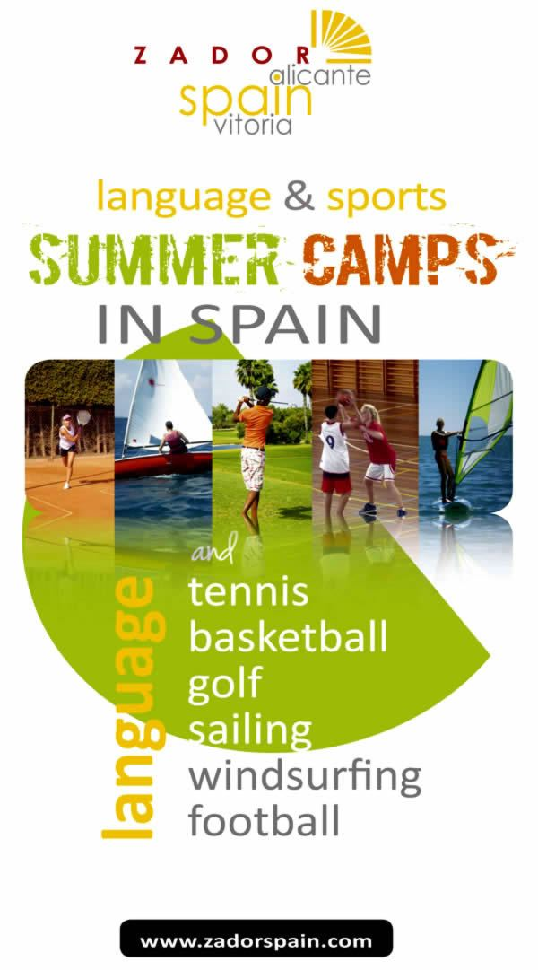 Summer Camps in Spain: Language and Sports Summer Camps