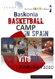 International Basketball Camp Baskonia Vitoria 2018
