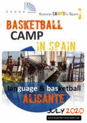 Basketball camp in Spain Alicante 2018