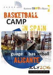 Basketball camp in Spain Alicante 2015